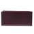 Leather wallet, 'Classic Woman in Maroon' - Handcrafted Leather Wallet in Maroon from India (image 2c) thumbail