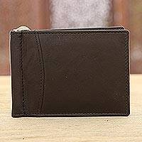 Leather wallet,