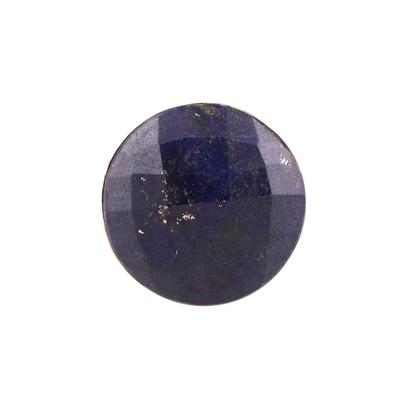 Men's lapis lazuli ring, 'Royal Facets' - Men's 12-Carat Lapis Lazuli Ring from India