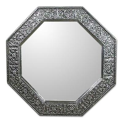 Mirror, 'Floral Cloud' - Mirror