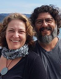 Silvana and João Alexandre