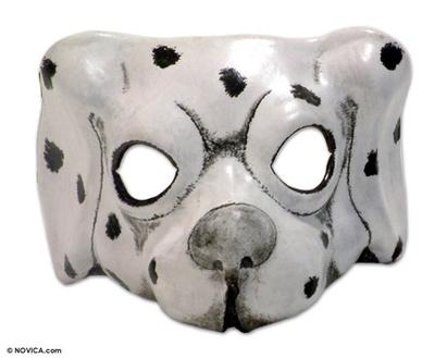 Hand Made Leather Dog Mask