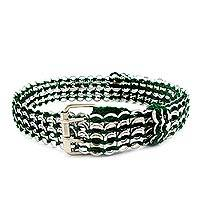 Soda pop-top belt, 'Green Chain Mail' - Soda pop-top belt