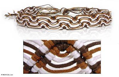 Cotton belt, 'Caramel Waves' - Cotton belt