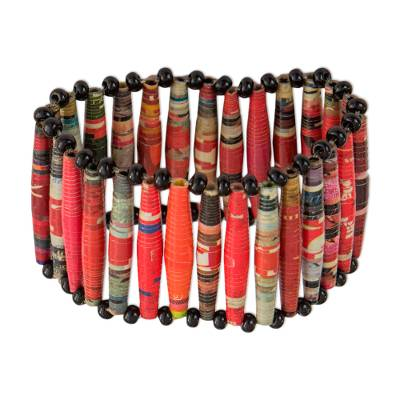 Recycled Paper Stretch Bracelet