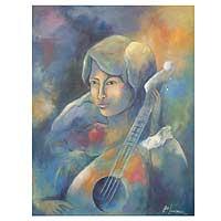 'Melodic' - Original Brazilian Acrylic Painting
