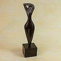 Bronze sculpture, 'Awakening I' - Original Signed Sculpture Brazil Fine Art