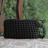 Featured review for Soda pop-top wristlet bag, Ebony Hope and Change