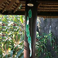 Mobile, 'Forest Mysteries' - Feng Shui Agate Mobile Wind Chimes