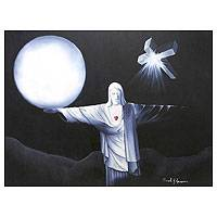'Light' - Spiritual Surrealist Painting