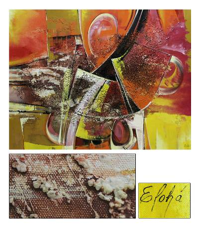'Orchestra' (2007) - Mixed Media Original Abstract Painting