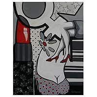 'Feminine' - Expressionist Painting