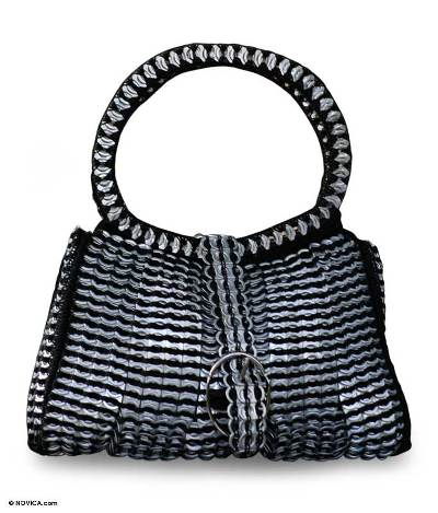 Soda pop-top handbag