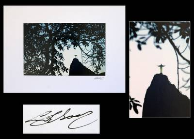 'Corcovado - Christ the Redeemer' - Color photograph on Fuji Cristal paper