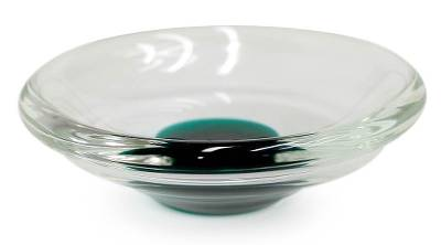 Handblown Murano Inspired Glass Centerpiece from Brazil