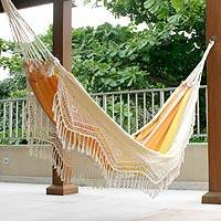 Featured review for Cotton hammock, Brazilian Beach (double)