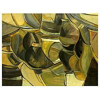 'Tin Pots' (2011) - Brazilian Abstract Painting
