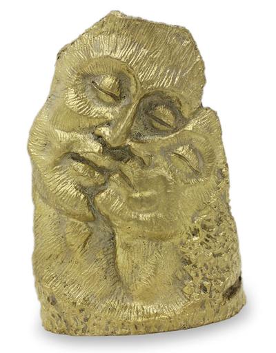 Bronze sculpture, 'The Couple' - Bronze sculpture