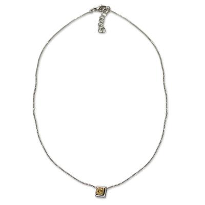 Unique Brazilian Drusy Pendant Necklace