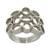 Sterling silver band ring, 'Beehive' - Original Sterling Silver Band Ring thumbail