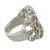 Sterling silver band ring, 'Beehive' - Original Sterling Silver Band Ring (image 2c) thumbail