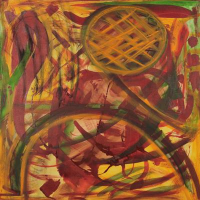 'Awakening' - Brazilian Abstract Fine Art Painting
