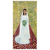 'Bride of Goias' - Original Brazilian Bridal Portrait