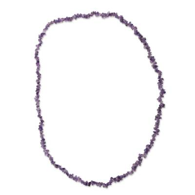 Artisan Crafted Amethyst Fair Trade Necklace
