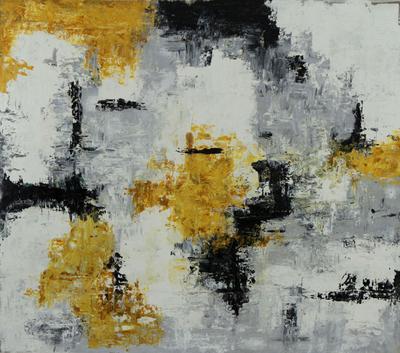 'Abstract III' - Original Brazilian Abstract Modern Painting