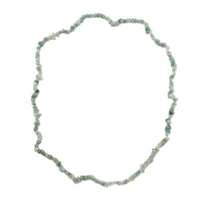Handcrafted Amazonite Beaded Necklace