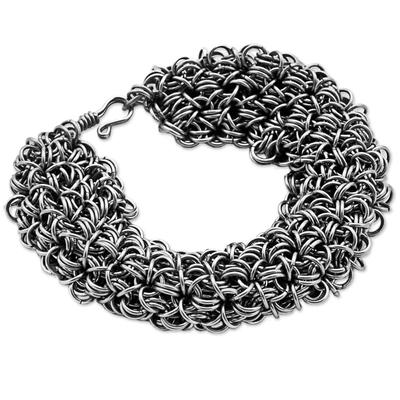 Stainless Steel Link Bracelet Mesh from Brazil