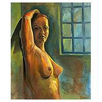 'She II' - Original Signed Brazilian Nude Study Painting