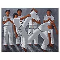 'Capoeira' - Brazil Fine Art Signed Original Capoeira Theme Painting