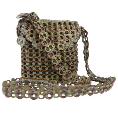Novica Soda pop-top sling, Golden Espresso