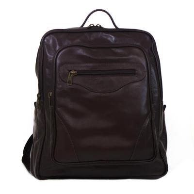 Novica Leather backpack, Love for Travel