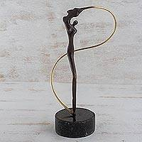 Bronze sculpture, 'Angel'