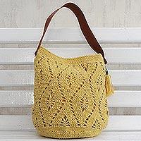Cotton bucket bag,