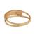 Gold band ring, 'Tricolor Constellation' - Tricolor Diamond Motif Gold Band Ring from Brazil (image 2c) thumbail