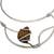 Tiger's eye collar necklace, 'Queen's Eye' - Tiger's Eye and Stainless Steel Collar Necklace (image 2d) thumbail