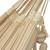 Cotton hammock, 'Tropical Style' (double) - Handwoven Double Cotton Hammock in Ivory from Brazil (image 2c) thumbail