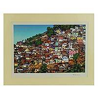 'Favela II' - Signed Photograph of a Brazilian Favela