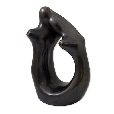 Bronze Romance-Themed Sculpture from Brazil