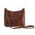 Leather messenger bag, 'Rio Adventure in Chestnut' - Handcrafted Brown Leather Messenger Bag from Brazil (image 2g) thumbail
