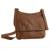Leather messenger bag, 'Rio Adventure in Burnt Sienna' - Handcrafted Brown Leather Messenger Bag from Brazil (image 2a) thumbail