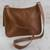 Leather messenger bag, 'Rio Adventure in Burnt Sienna' - Handcrafted Brown Leather Messenger Bag from Brazil (image 2c) thumbail