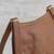 Leather messenger bag, 'Rio Adventure in Burnt Sienna' - Handcrafted Brown Leather Messenger Bag from Brazil (image 2d) thumbail