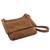 Leather messenger bag, 'Rio Adventure in Burnt Sienna' - Handcrafted Brown Leather Messenger Bag from Brazil (image 2f) thumbail