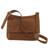 Leather messenger bag, 'Rio Adventure in Burnt Sienna' - Handcrafted Brown Leather Messenger Bag from Brazil (image 2g) thumbail