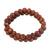 Sunstone beaded stretch bracelets, 'Strength and Energy' (pair) - Two Sunstone Beaded Stretch Bracelets from Brazil (image 2a) thumbail