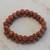 Sunstone beaded stretch bracelets, 'Strength and Energy' (pair) - Two Sunstone Beaded Stretch Bracelets from Brazil (image 2b) thumbail